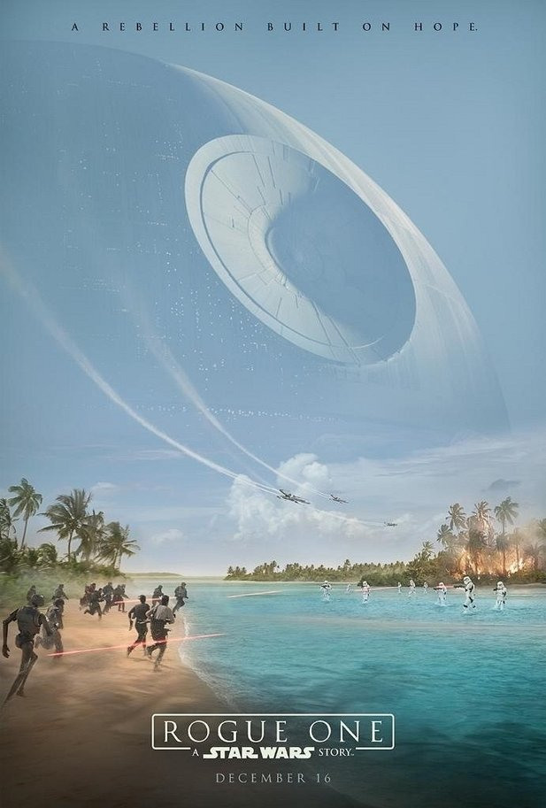 Erstes Poster zu Star Wars: Rogue One.