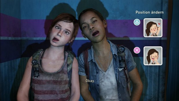 Eine der stärksten Momente in The Last of Us: Ellie und Riley in der Fotobox.