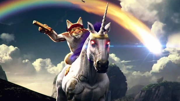 Trials Fusion: Awesome Level Max - Trailer: Katze reitet Einhorn