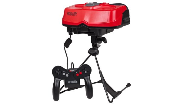 Der Virtual Boy erschien 1995 in den USA und Japan.