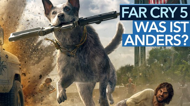 Was ist neu in Far Cry 5? - Video: Fünf Unterschiede zu Far Cry 4 und Co.