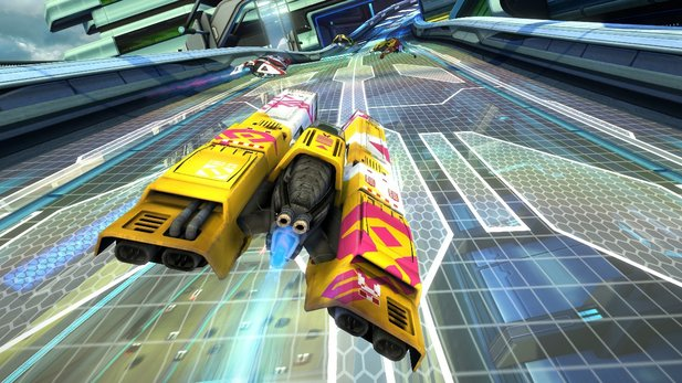 Wipeout Omega Collection im Test für PS4.