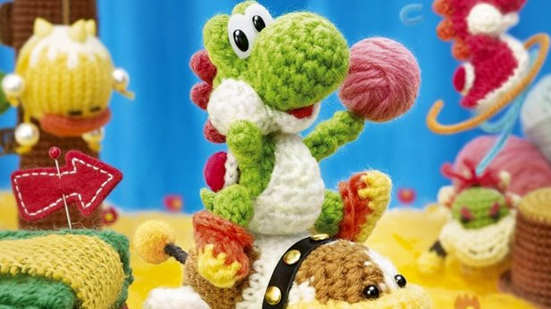 Yoshi's Woolly World - Test-Video: Völlig von der Wolle