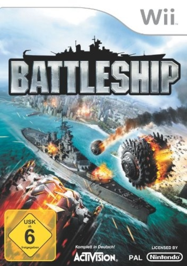 Cover zu Battleship: The Video Game