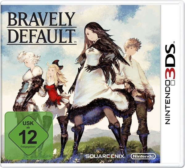 Cover zu Bravely Default
