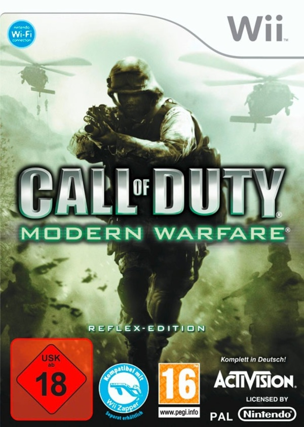 Cover zu Call of Duty 4: Modern Warfare: Reflex Edition