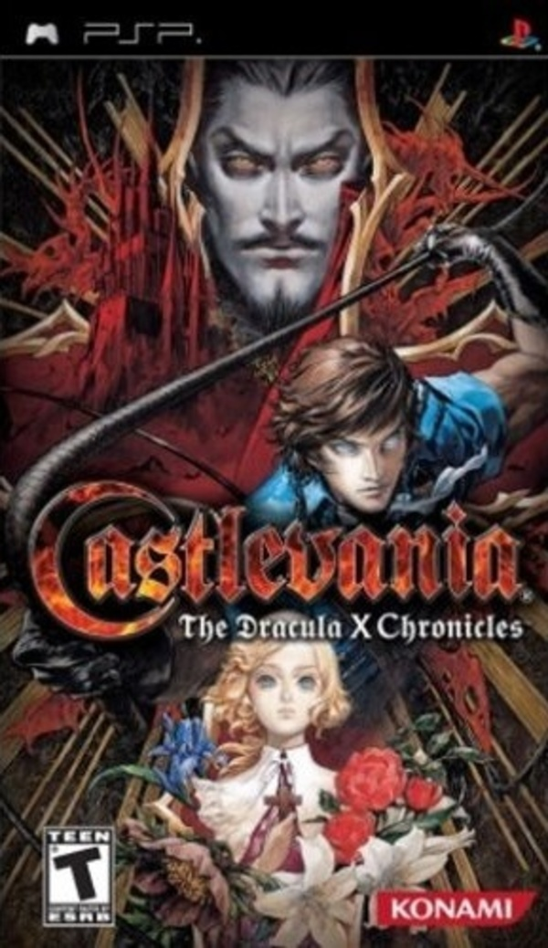 Cover zu Castlevania: The Dracula X Chronicles