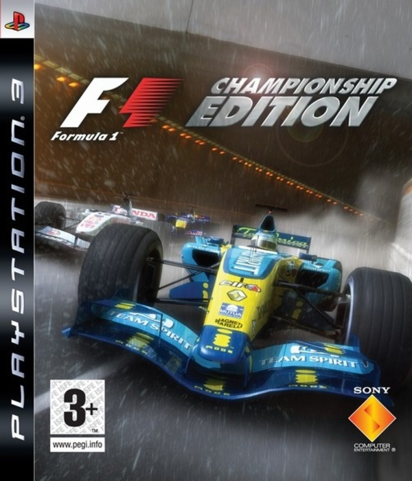 Cover zu Formula One Championship Edition