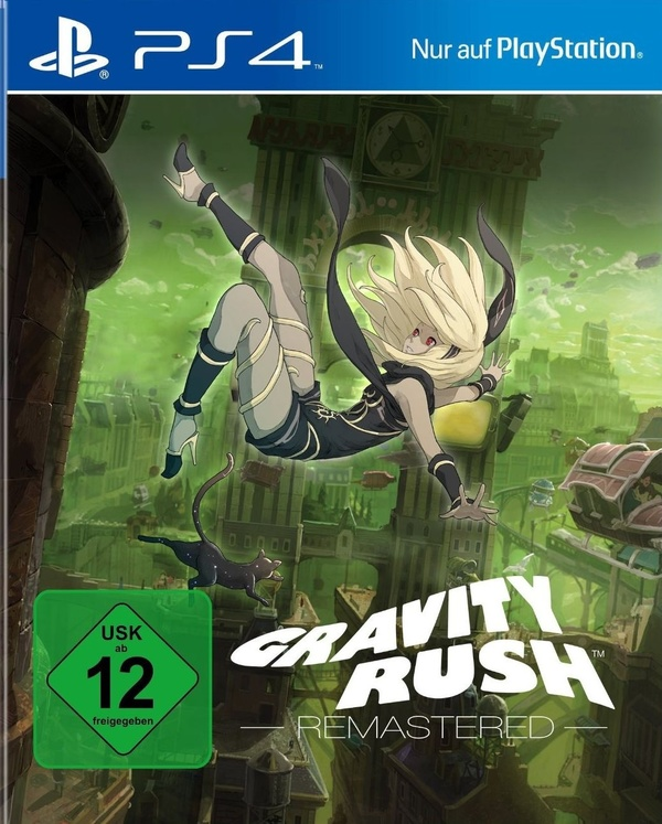 Cover zu Gravity Rush Remastered