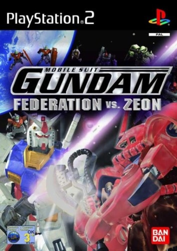 Cover zu Gundam: Federation vs. Zeon