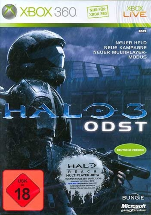 Cover zu Halo 3: ODST