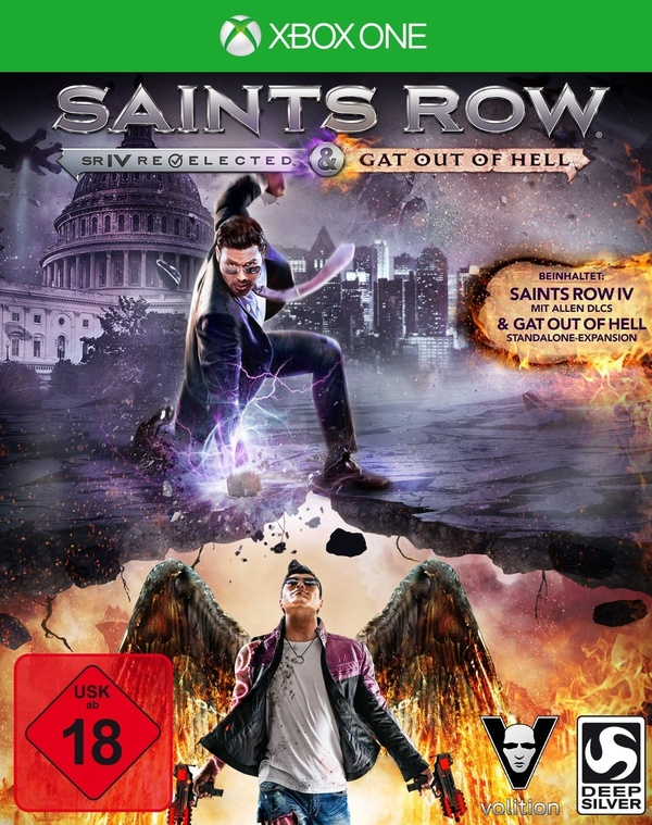 Cover zu Saints Row 4 Re-Elected + Gat Out of Hell