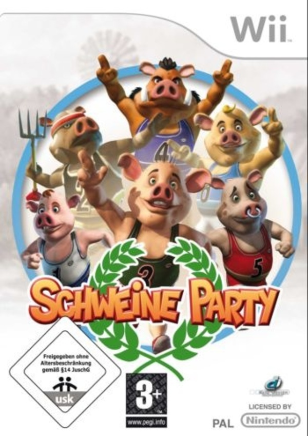 Cover zu Schweine Party