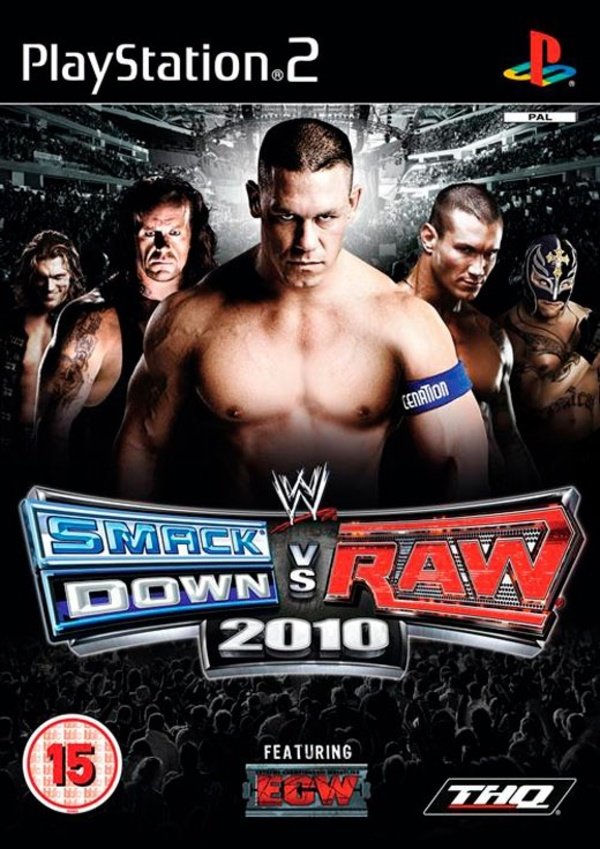 Cover zu WWE Smackdown vs. RAW 2010
