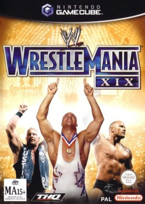 Cover zu WWE Wrestlemania XIX