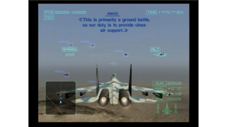 Igniting the thrusters on your SU-35 Fighter to faster reach the ground objectives that await in the desert