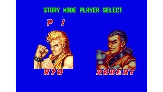 In story mode, you can only choose from either Ryo or Robert.