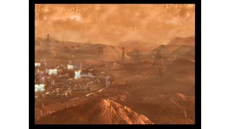 One of the Mars colonies you'll be defending