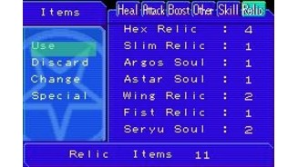 Along with other items, you can get relics and combine them to form new demons