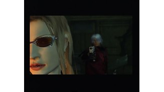And so Trish hires Dante for demon-hunting job.