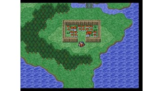 Final Fantasy II: world map