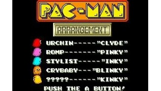 Pac-Man Arrangement Title Screen
