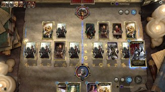 <b>The Elder Scrolls: Legends</b><br>Klassisches Tokendeck in Aktion: Der Legionspräfekt bufft die gesamte Armee.