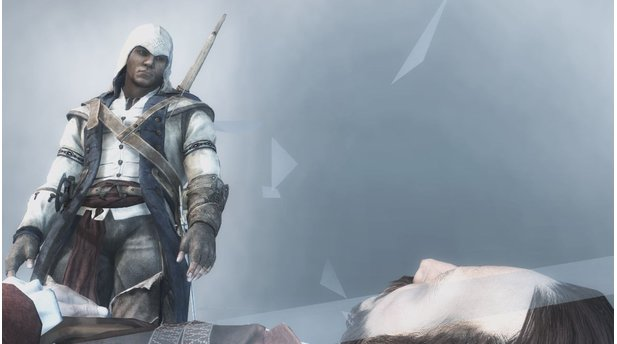 Assassins Creed 3Nicht mehr Ezio Auditore, sondern Connor Kenway ist der neue Held in Assassins Creed 3.