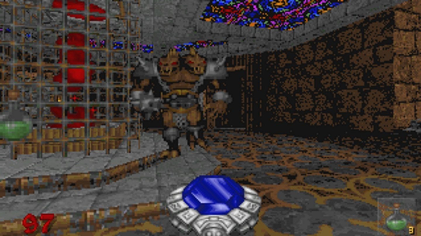 1995: HexenId Tech 1 (Doom Engine)