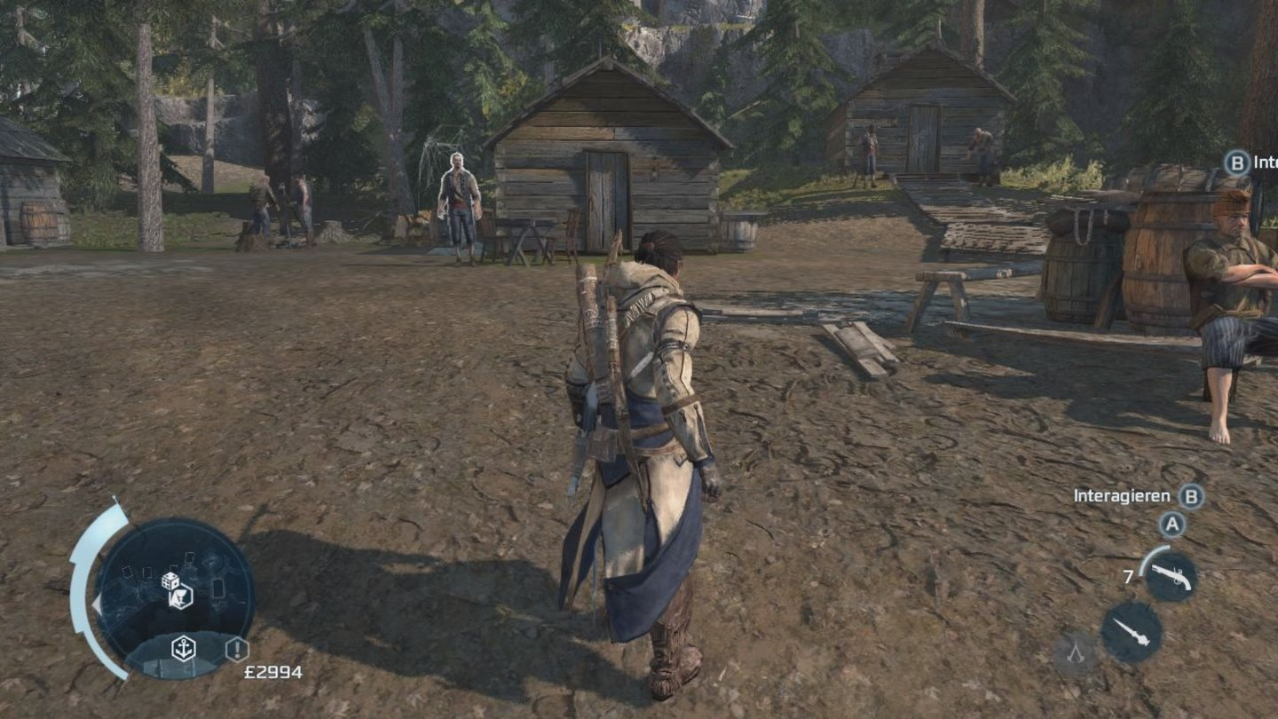 Assassin's Creed 3Screenshots von der Xbox 360
