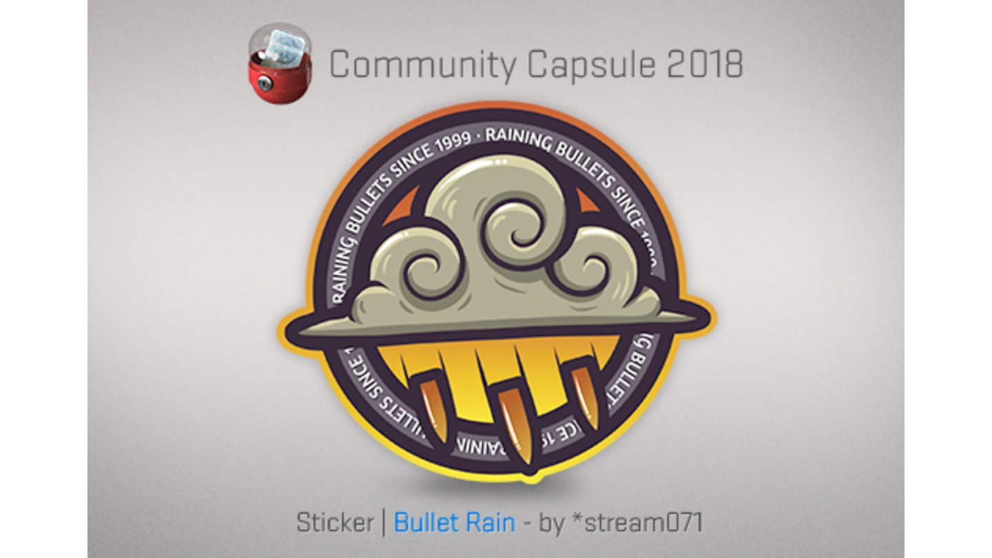 Counter-Strike: Global Offensive - Community Capsule 2018 Sticker