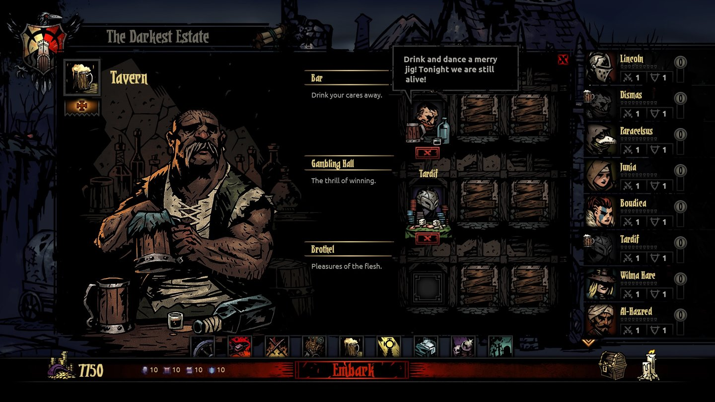 Darkest Dungeon - Screenshots