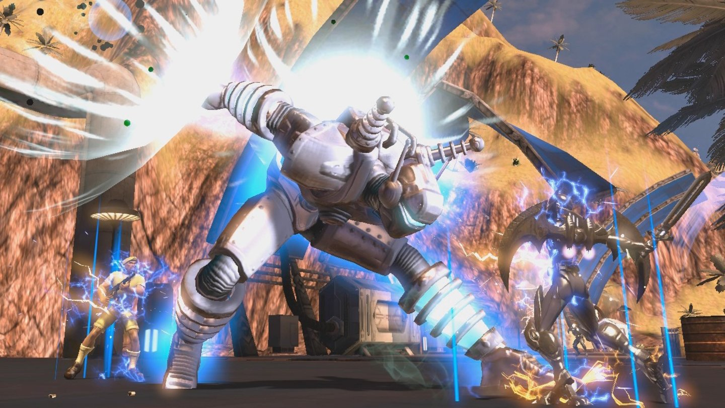 DC Universe OnlineScreenshot vom Inhalts-Update »Season's Greedings«