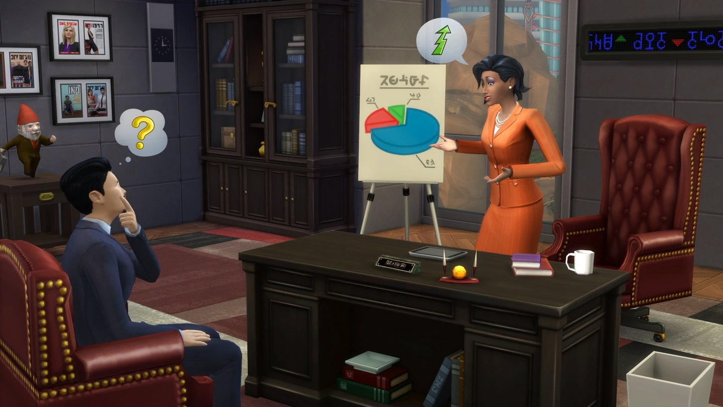 Die Sims 4Screenshots vom Karriere-Update
