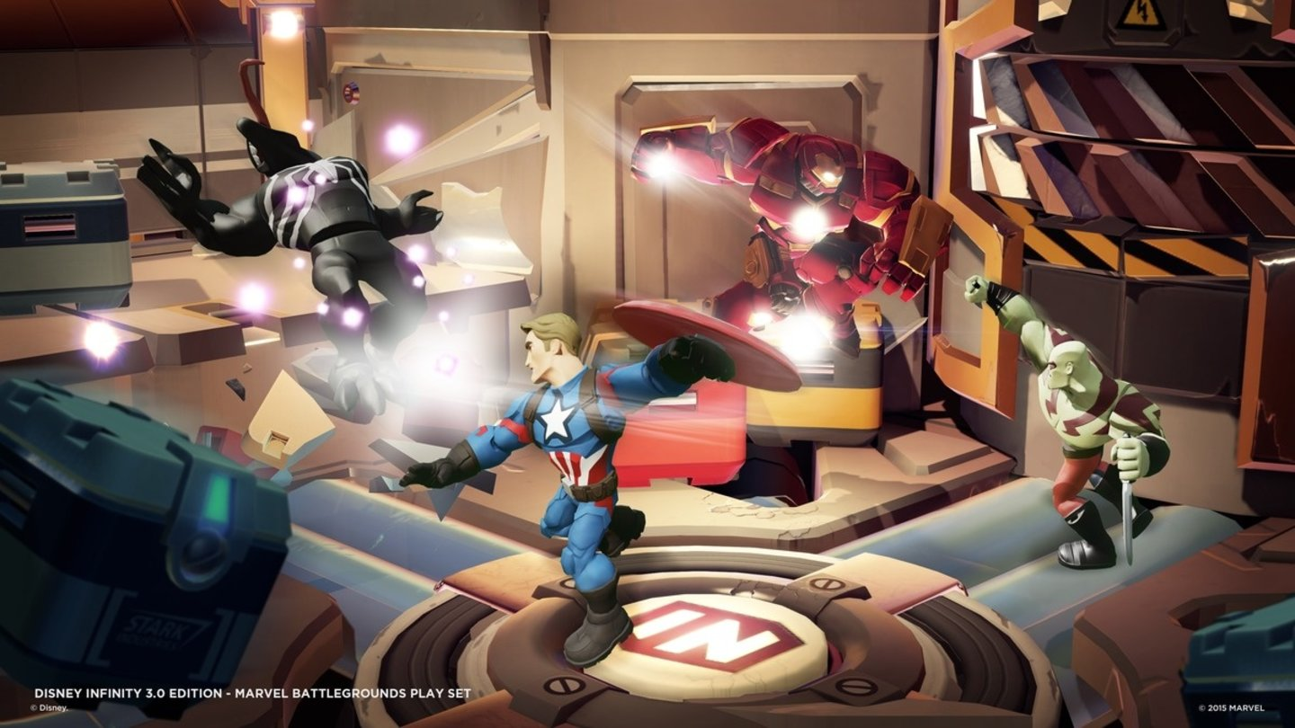Disney Infinity 3.0: Play Without Limits - Marvel Battlegrounds Screenshots