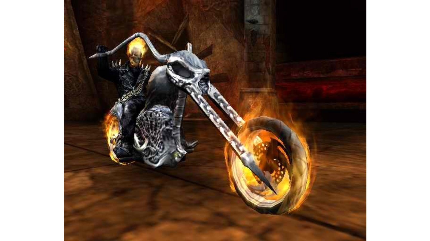 Ghost Rider PS2 Screen 1