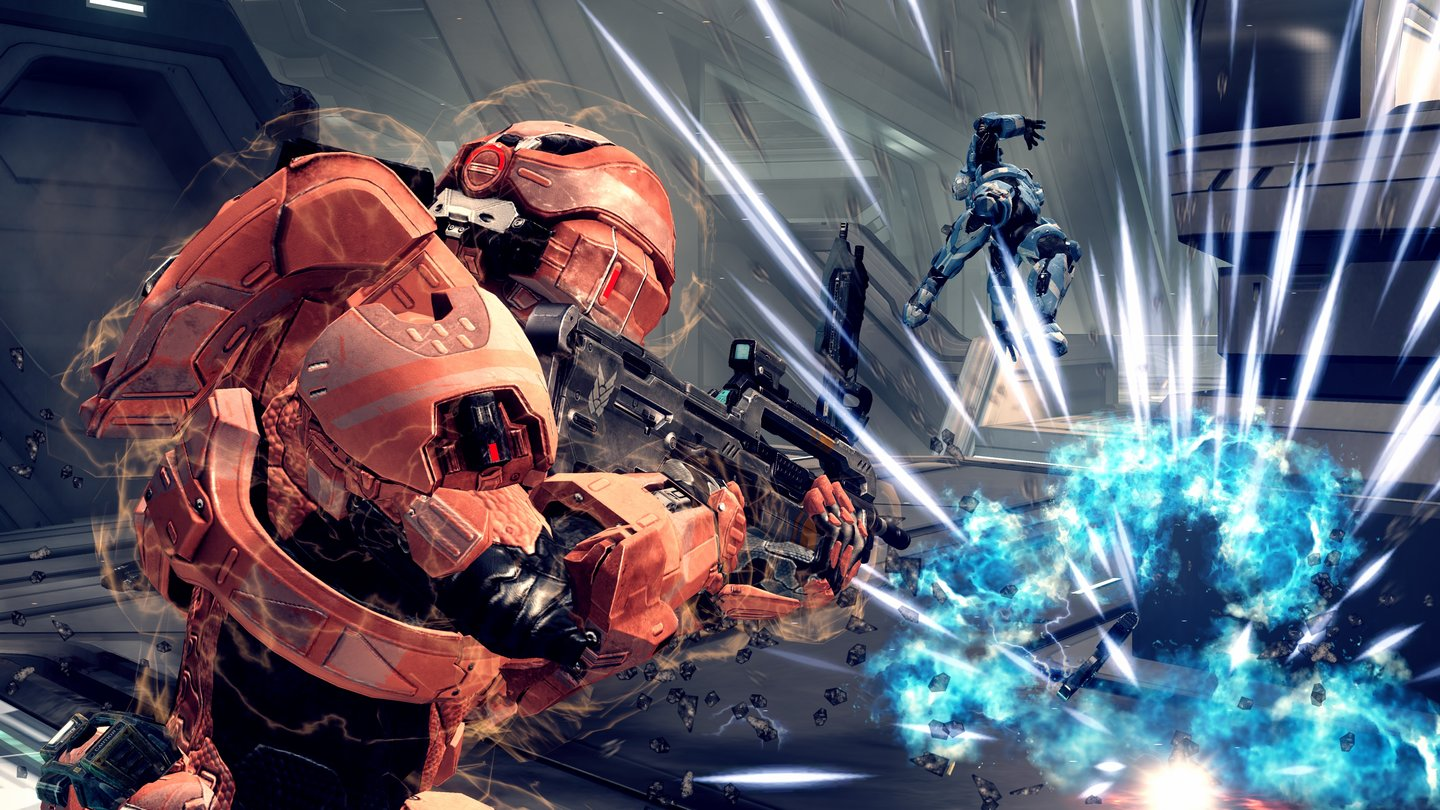 Halo 4In den War Games treten Spieler in verschiedenen Multiplayer-Modi gegeneinander an (Deathmatch, Capture the Flag).