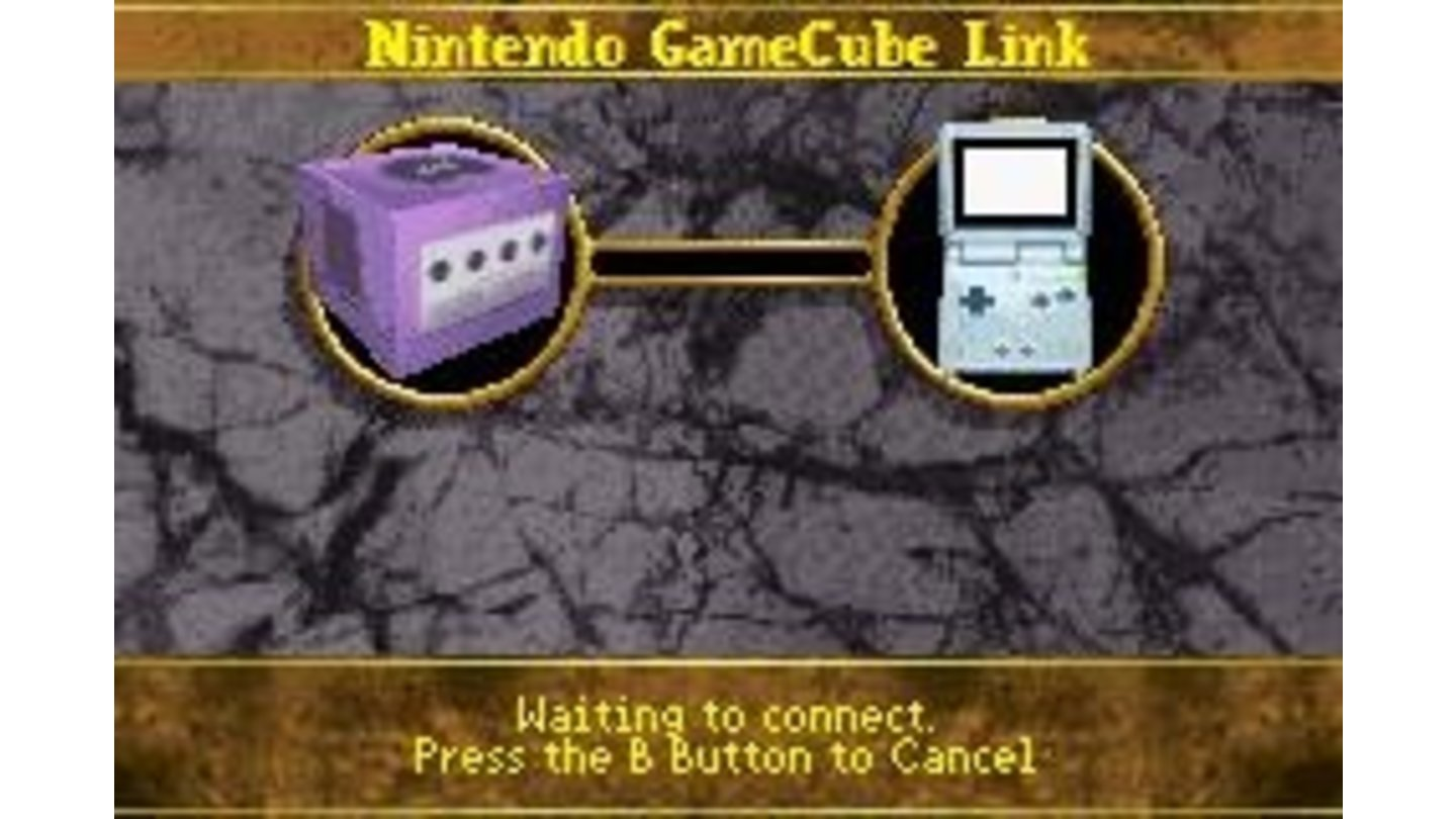 Connect to a GameCube to unlock secrets