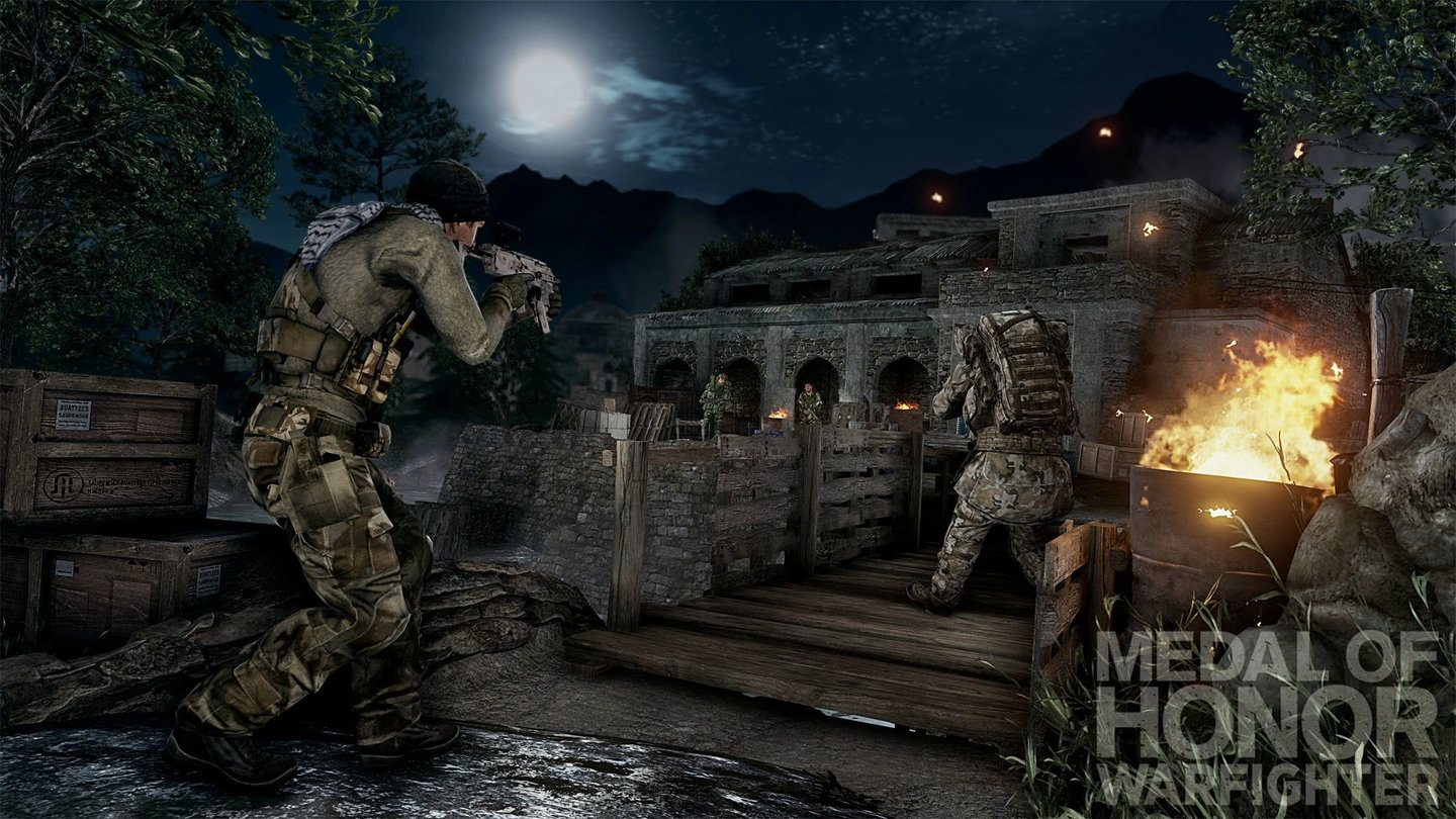 Medal of Honor: Warfighter - Chitral aus dem Hunt-Kartenpaket.