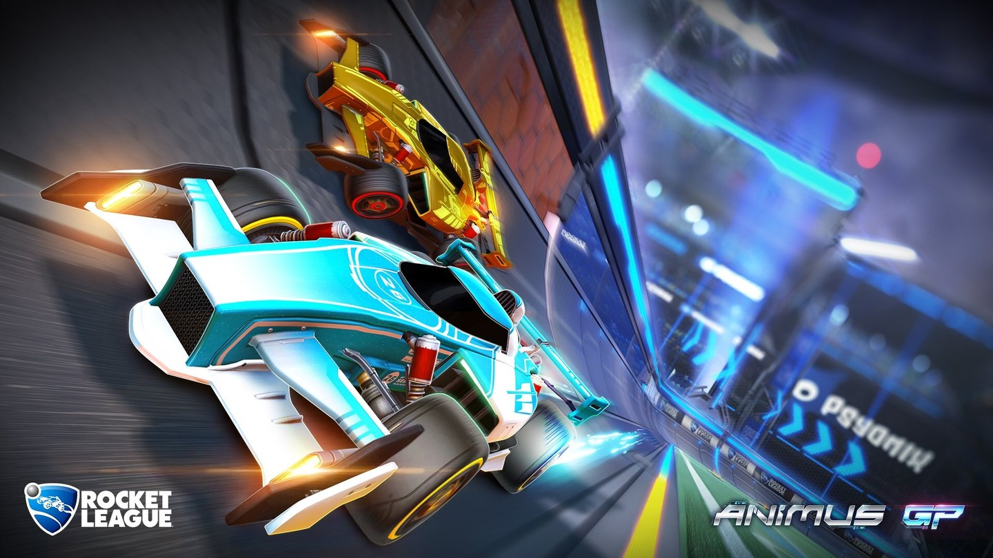 Rocket LeagueScreenshots aus dem 2nd Anniversary Update