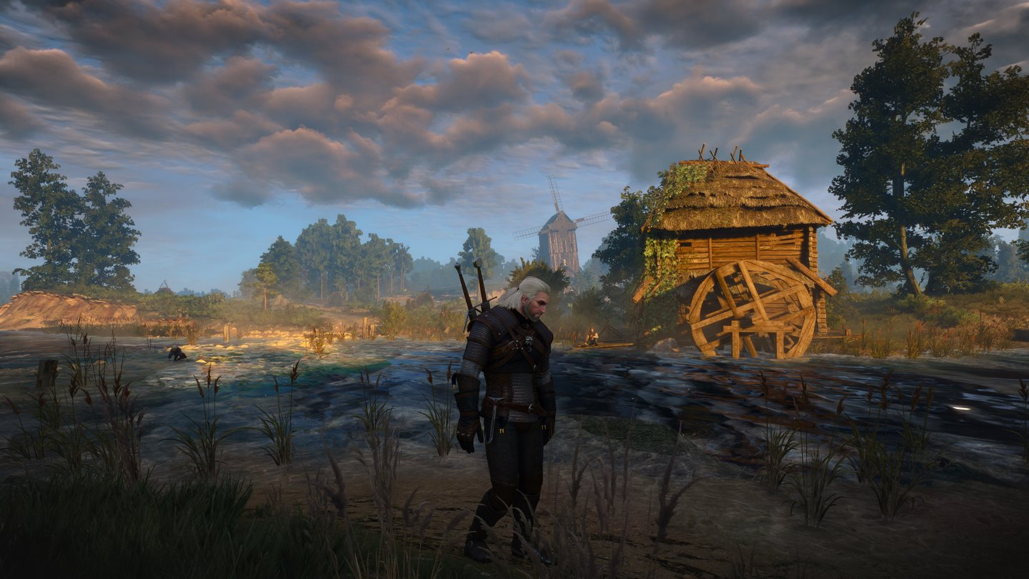 Witcher 3 in extrem - 4K 4 Abends