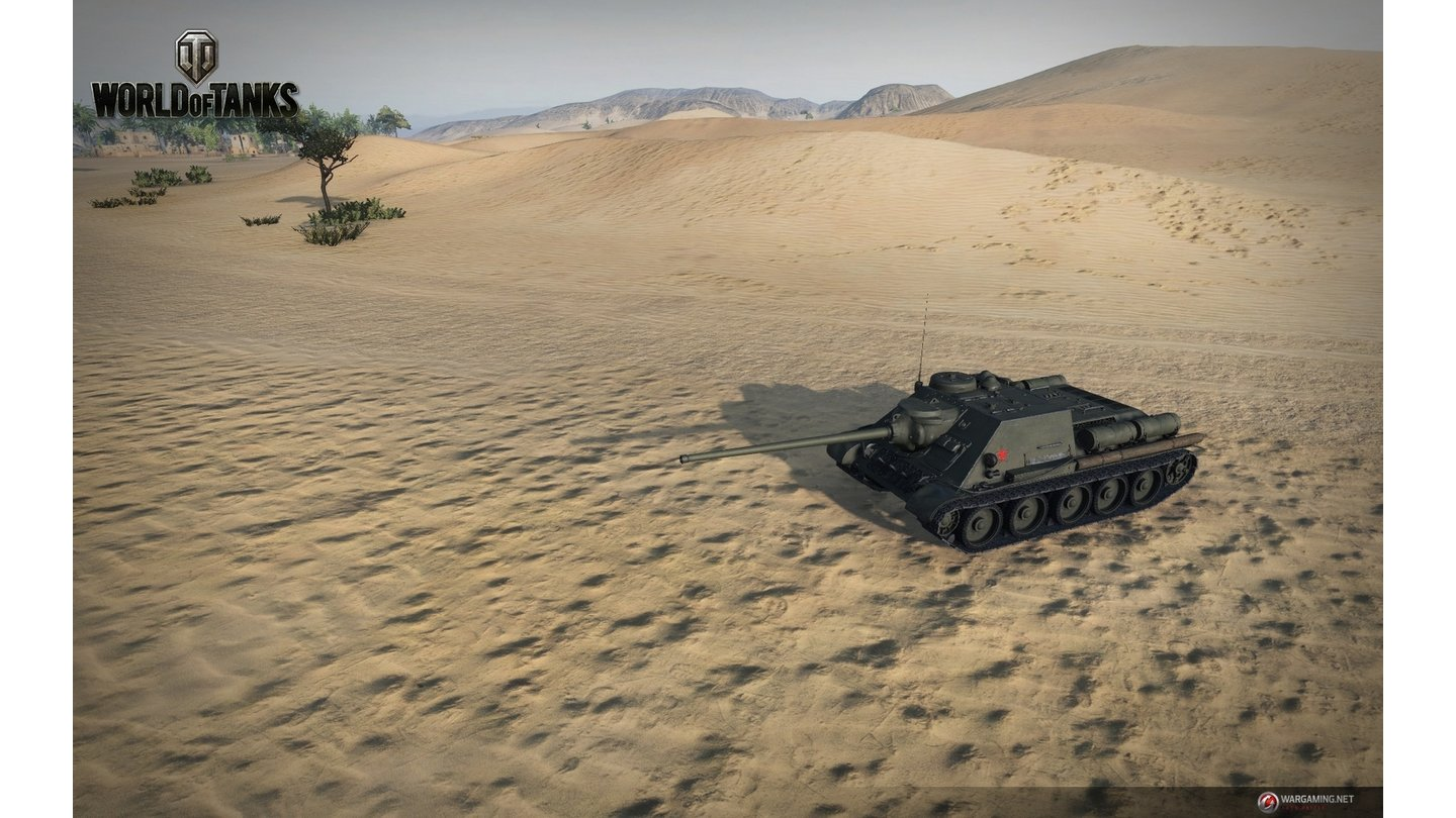 World of Tanks - Screenshots aus Version 9.2