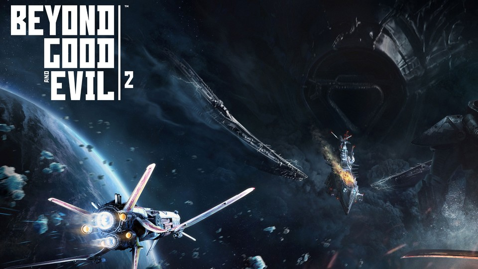 Beyond Good & Evil 2... in Space!