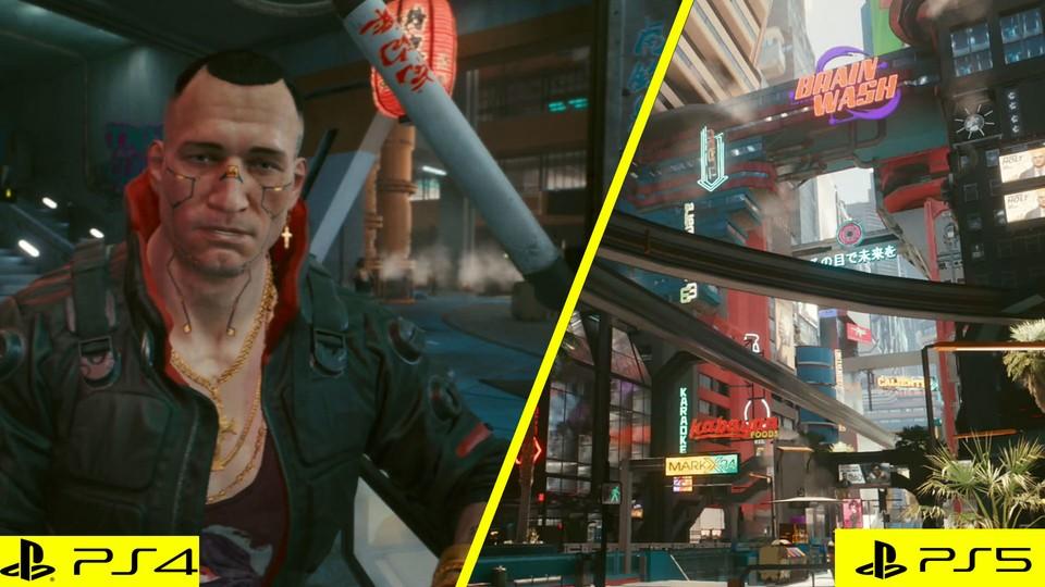 Cyberpunk 2077: Vergleich der Konsolengrafiken - Warum PS4- und Xbox One-Spieler warten müssen