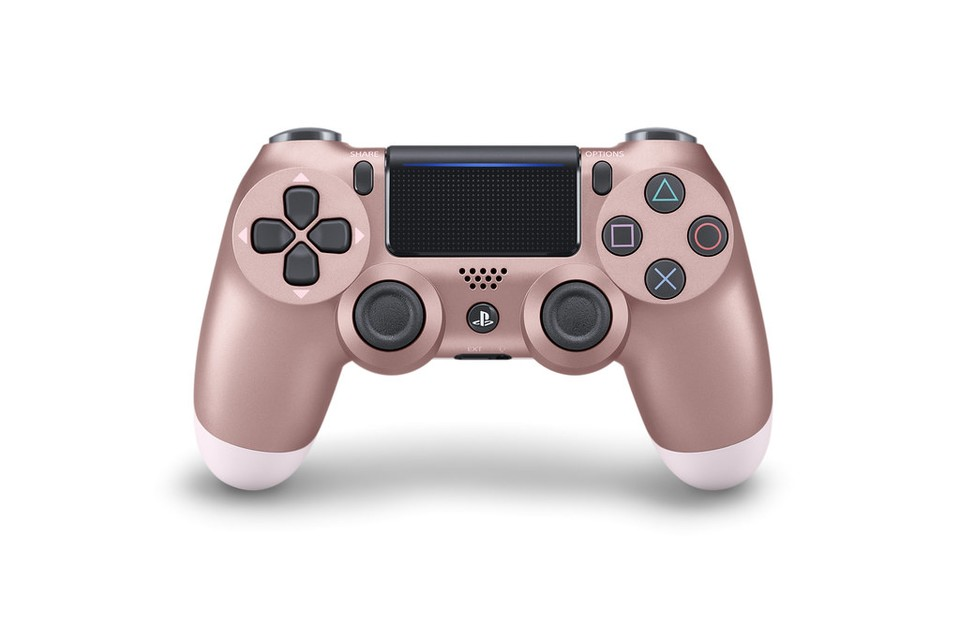 DualShock in Rose Gold.