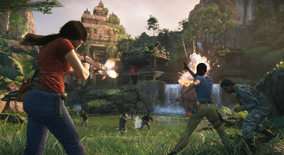Uncharted: The Lost Legacy ist wie Uncharted 4 in mehrere Kapitel unterteilt.