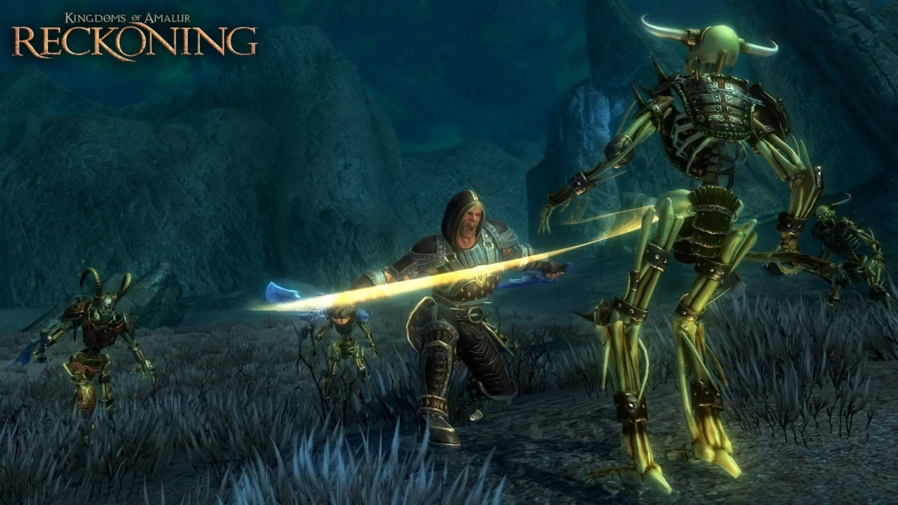 Kingdom of amalur reckoning trailer screenshots for Couch koop ps4
