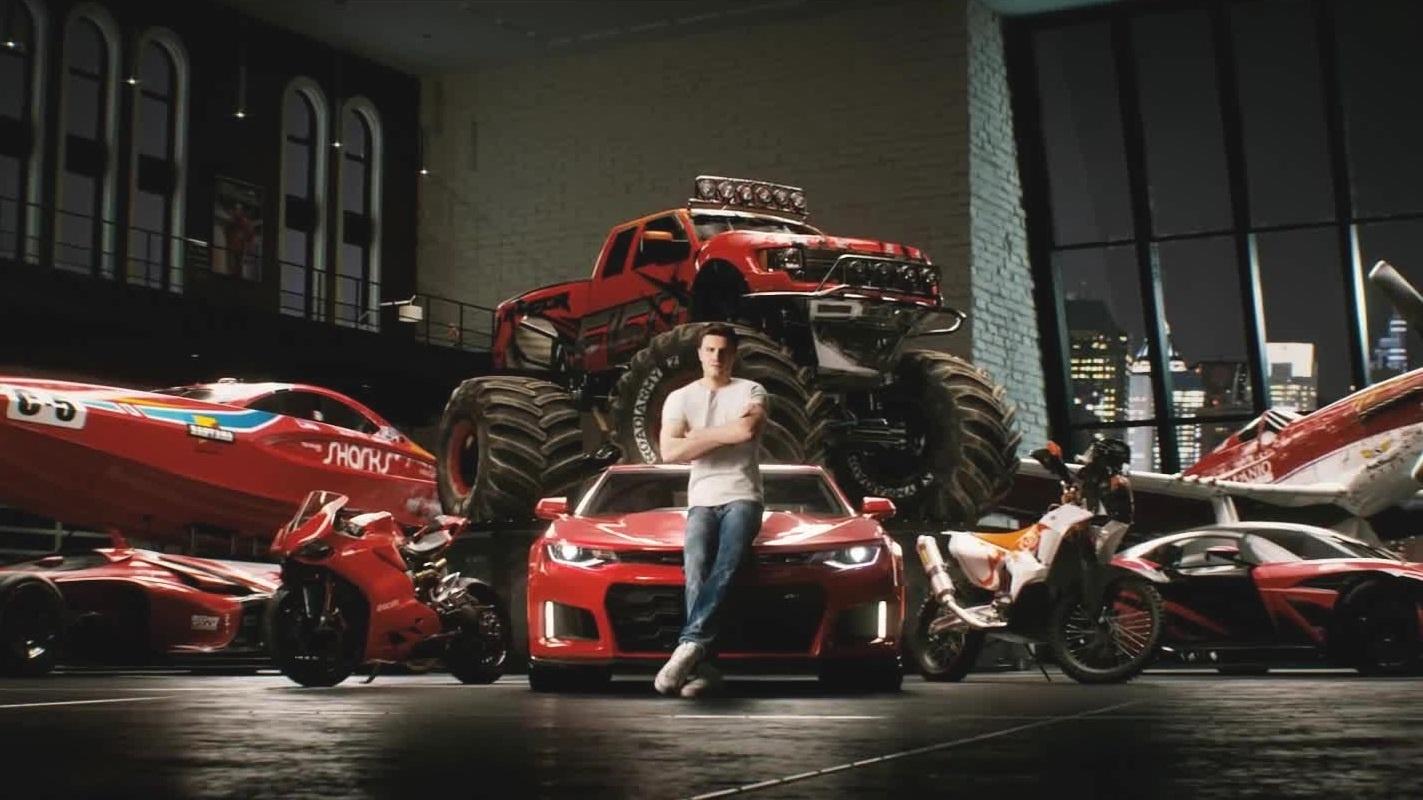 the crew 2 spektakul rer render trailer zeigt autos. Black Bedroom Furniture Sets. Home Design Ideas