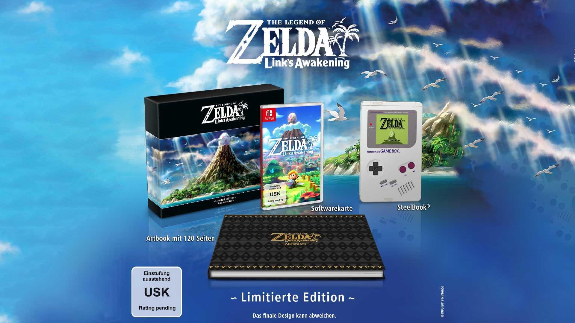 Zelda Links Awakening Limited Edition Bei Mediamarkt Vorbestellen